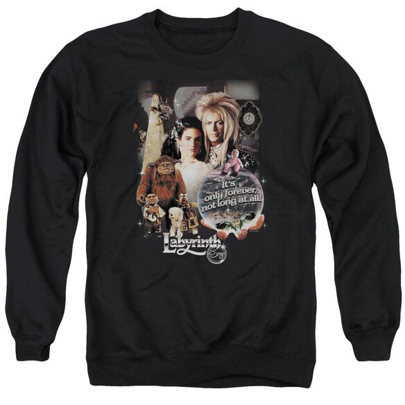 Labyrinth 25 Years Of Magic Adult Crewneck Sweatshirt