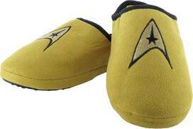 Star Trek TOS Command Gold Slippers