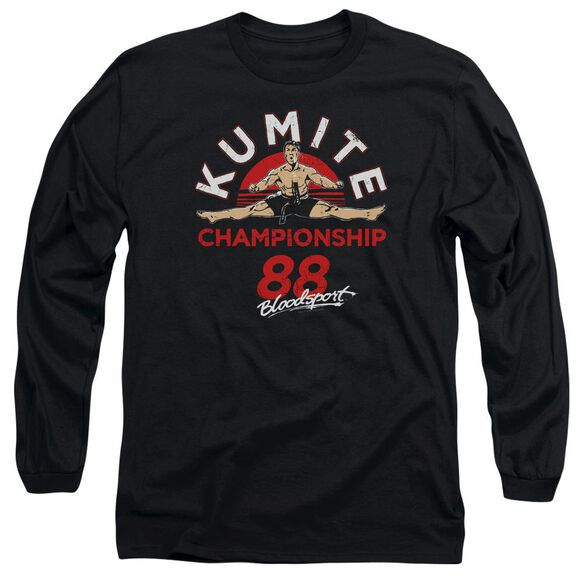 Bloodsport Championship 88 Long Sleeve Adult T-Shirt
