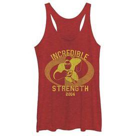 Incredibles Strength Tank Top Juniors T-Shirt