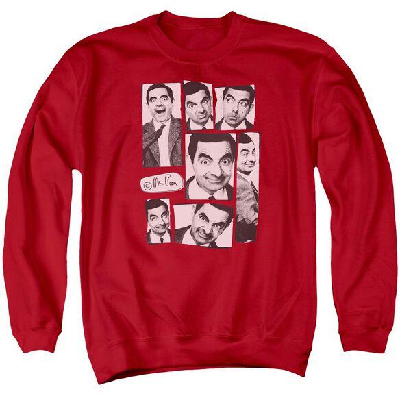 Mr Bean Boxed Beans Adult Crewneck Sweatshirt