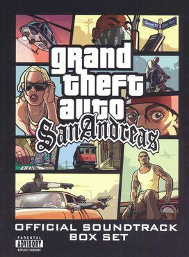 Original Game Soundtrack - Grand Theft Auto: San Andreas [Box Set]