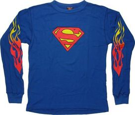 Superman Thermal Long Sleeve Shirt