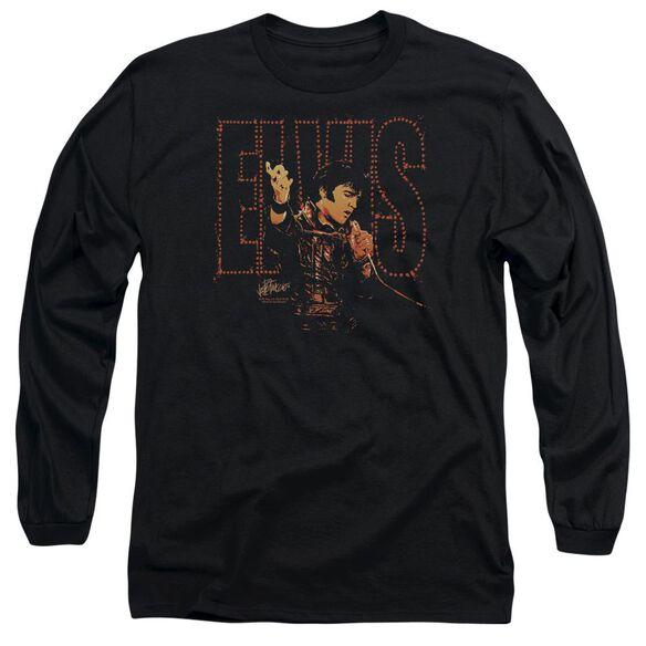Elvis Presley Take My Hand Long Sleeve Adult T-Shirt