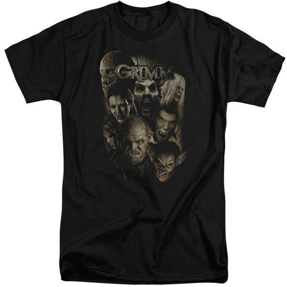 Grimm Wesen Short Sleeve Adult Tall T-Shirt