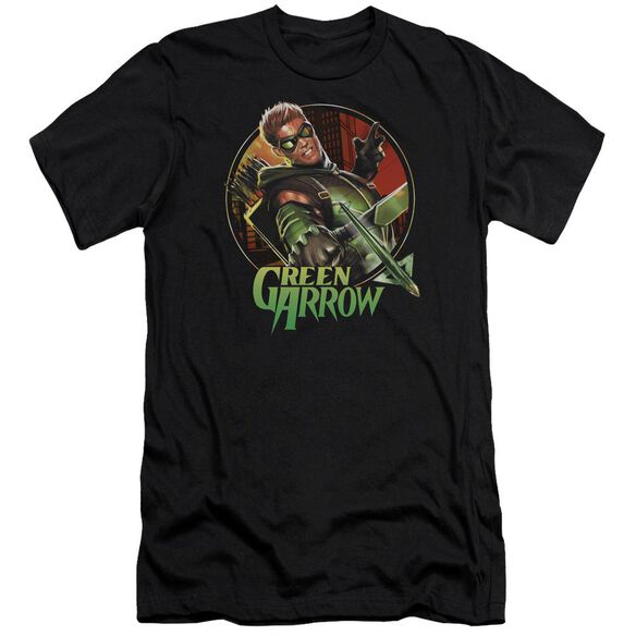 Jla Sunset Archer Short Sleeve Adult T-Shirt