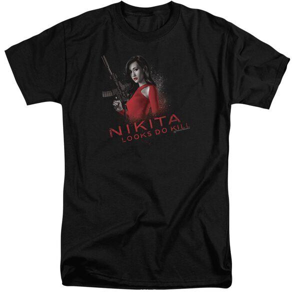 Nikita Looks Do Kill Short Sleeve Adult Tall T-Shirt