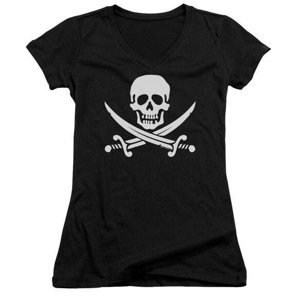 Jolly Roger Junior V Neck T-Shirt