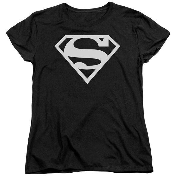 Superman Logo Short Sleeve Womens Tee T-Shirt