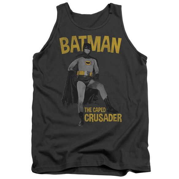 Batman Classic Tv Caped Crusader Adult Tank