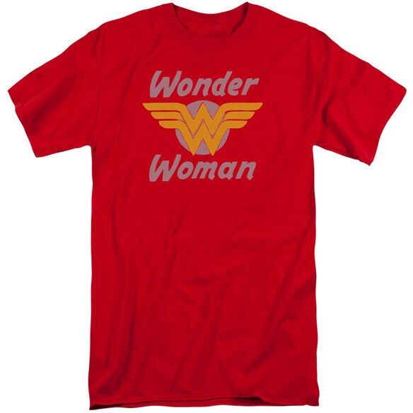 Dc Wonder Wings Short Sleeve Adult Tall T-Shirt