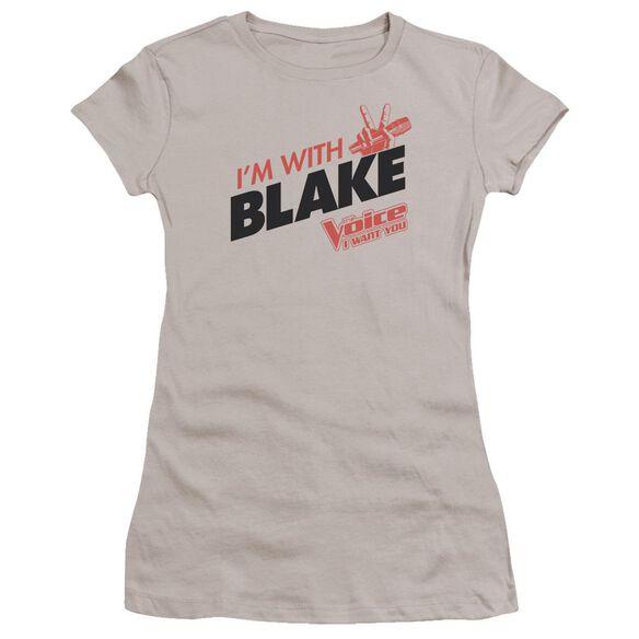 Voice With Blake Premium Bella Junior Sheer Jersey