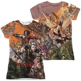 Zenoscope Neverland (Front Back Print) Short Sleeve Junior Poly Crew T-Shirt