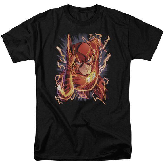Jla Flash #1 Short Sleeve Adult T-Shirt