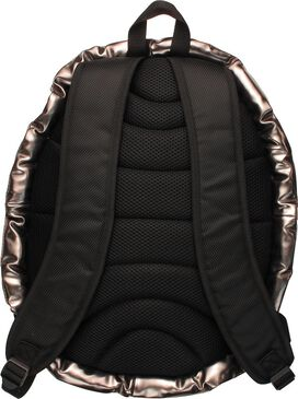 Silver Spiked Black Shell Backpack