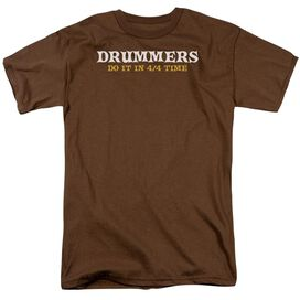Drummers Do It Short Sleeve Adult T-Shirt