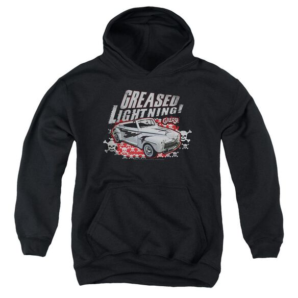 Grease Greased Lightening Youth Pull Over Hoodie