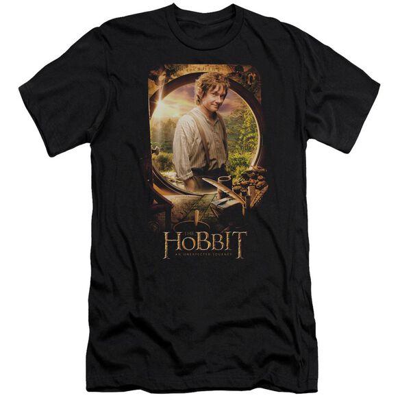 The Hobbit Bilbo Poster Short Sleeve Adult T-Shirt