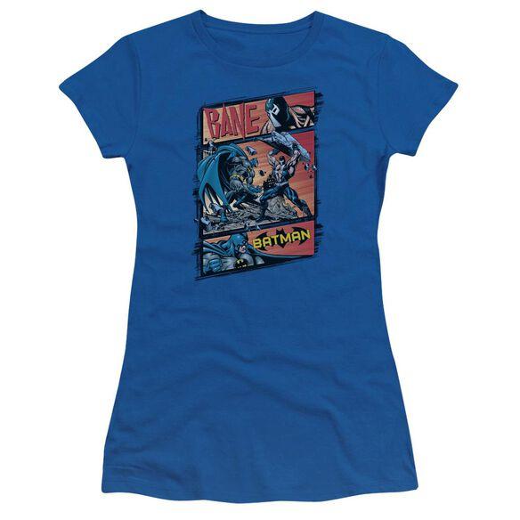 BATMAN EPIC BATTLE - S/S JUNIOR SHEER - T-Shirt