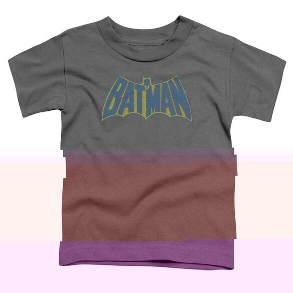 BATMAN SKETCH LOGO - S/S TODDLER TEE - CHARCOAL - T-Shirt