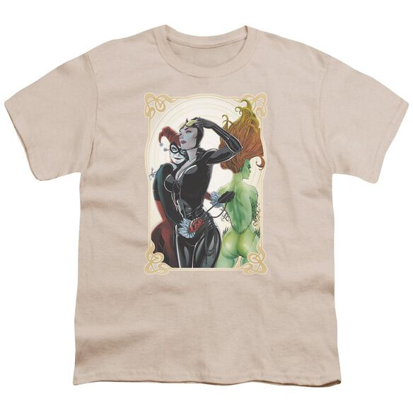 Batman Sirens Nouveau Short Sleeve Youth T-Shirt