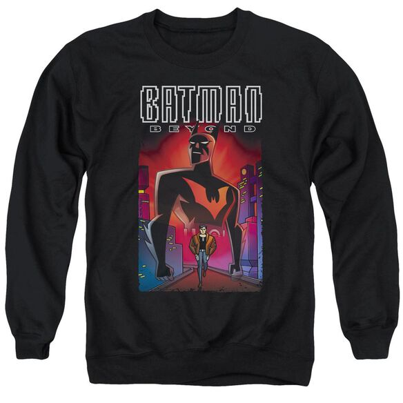 Batman Beyond Facing Fate Adult Crewneck Sweatshirt