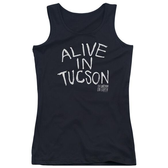 Last Man On Earth Alive In Tucson Juniors Tank Top