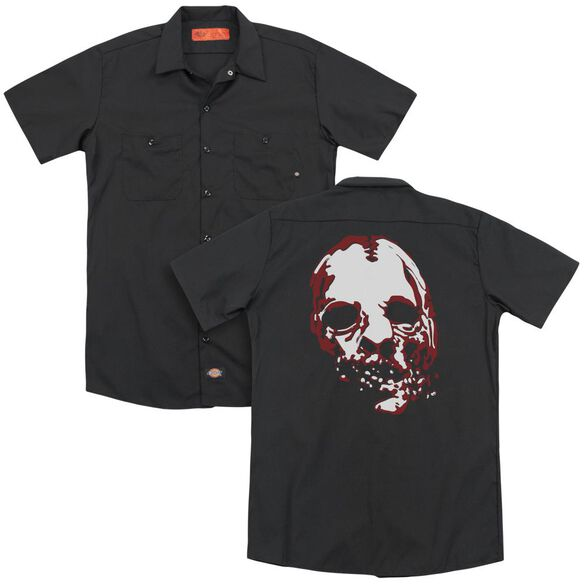 American Horror Story Bloody Face (Back Print) Adult Work Shirt