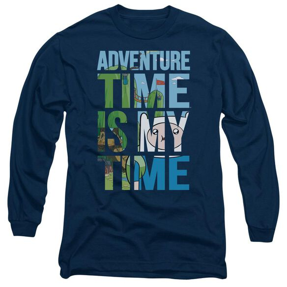 Adventure Time My Time Long Sleeve Adult T-Shirt