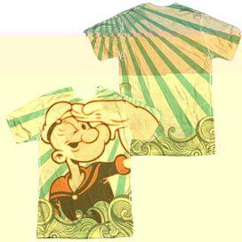 POPEYE TRAVELING MAN (FRONT/BACK T-Shirt