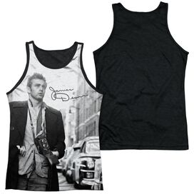 Dean Street Walk Adult Poly Tank Top Black Back