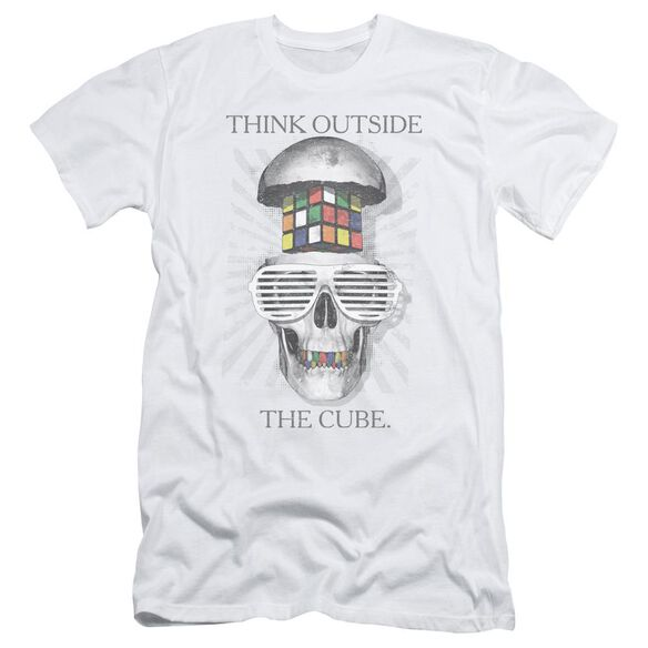Rubik's Cube Outside The Cube Short Sleeve Adult T-Shirt