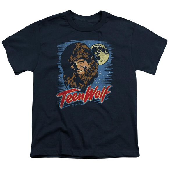 Teen Wolf Moon Wolf Short Sleeve Youth T-Shirt