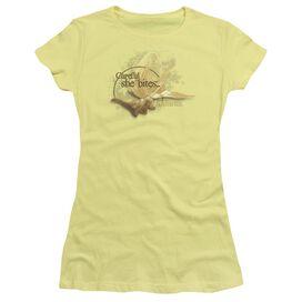 Labyrinth She Bites Short Sleeve Junior Sheer T-Shirt