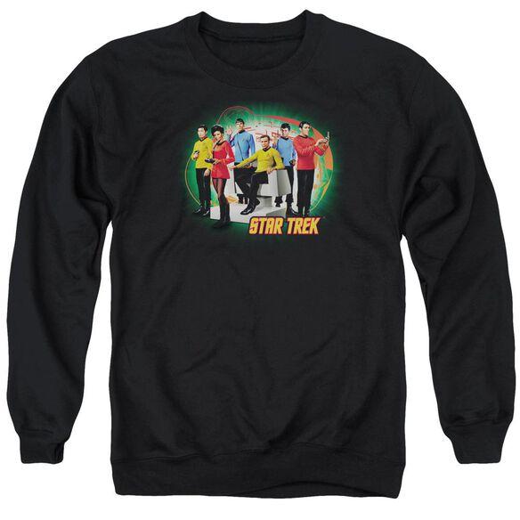 Star Trek Enterprises Finest Adult Crewneck Sweatshirt