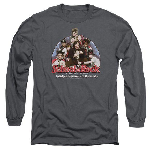 School Of Rock I Pledge Allegiance Long Sleeve Adult T-Shirt
