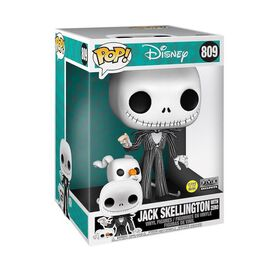 Funko Pop! Disney: Nightmare Before Christmas - Jack Skellington with Zero [Glow]