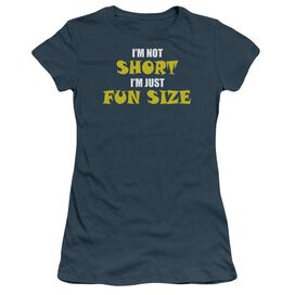 Not Short Short Sleeve Junior Sheer T-Shirt