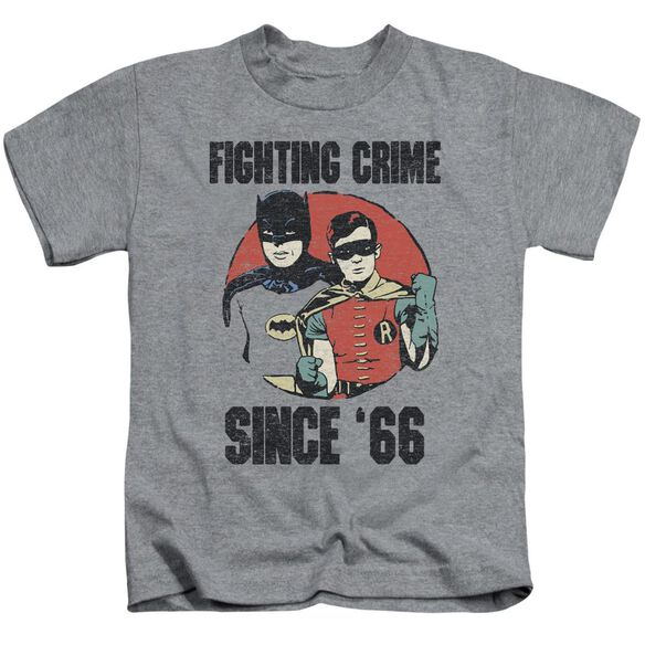 Batman Classic Tv Since 66 Short Sleeve Juvenile Athletic T-Shirt