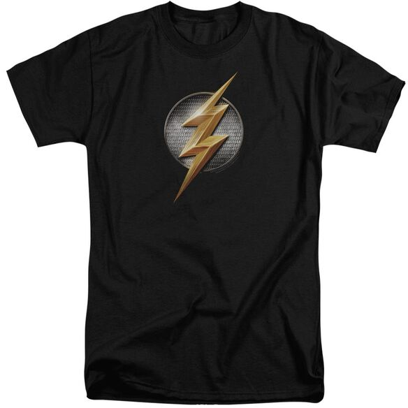 Justice League Movie Flash Logo Short Sleeve Adult Tall T-Shirt