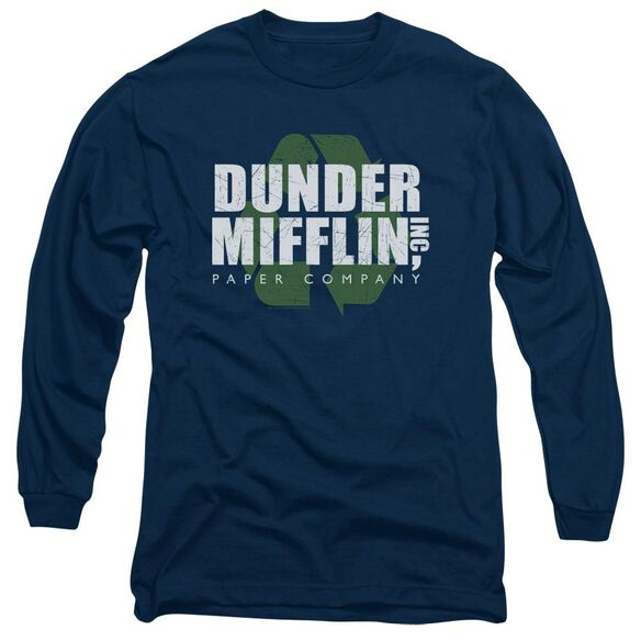 The Office Recycle Mifflin Long Sleeve Adult T-Shirt