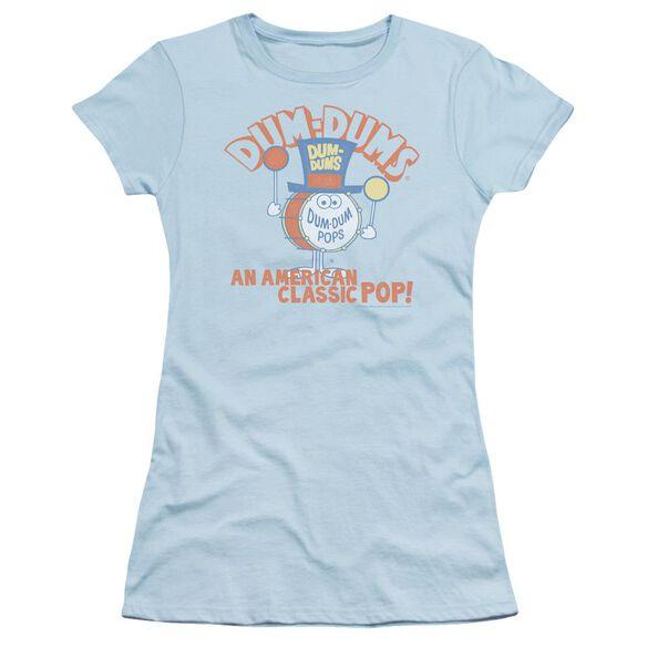 Dum Dums Classic Pop Short Sleeve Junior Sheer Light T-Shirt