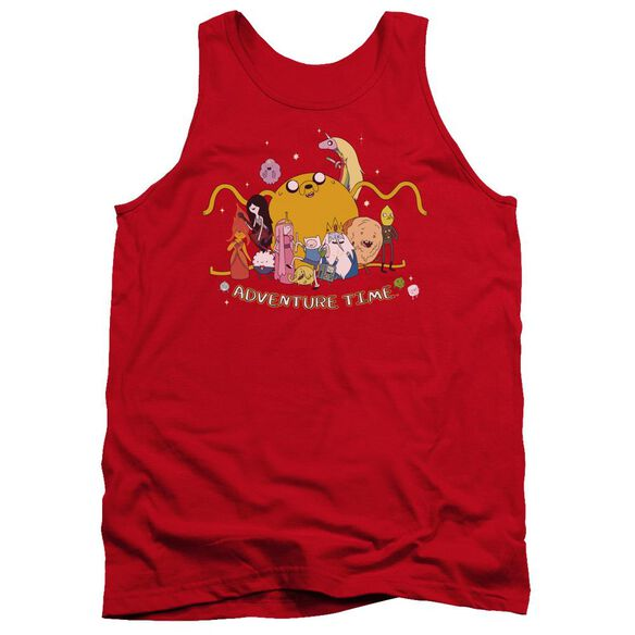 Adventure Time Outstretched Adult Tank