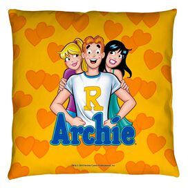 Archie Comics Love Triangle Throw
