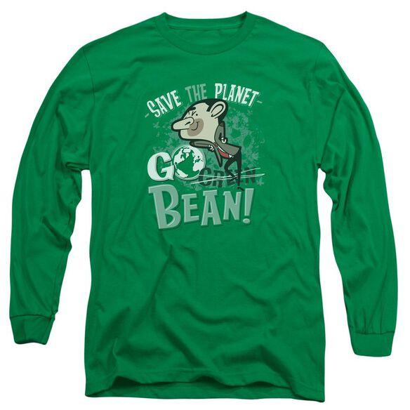 Mr Bean Go Bean Long Sleeve Adult Kelly T-Shirt