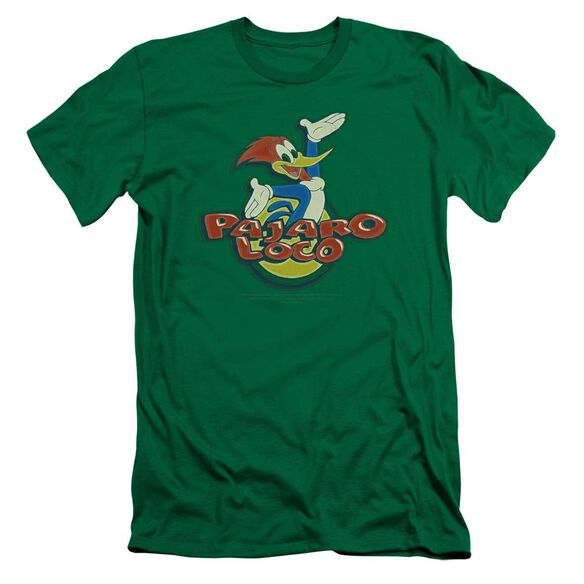 Woody Woodpecker Loco Premuim Canvas Adult Slim Fit Kelly