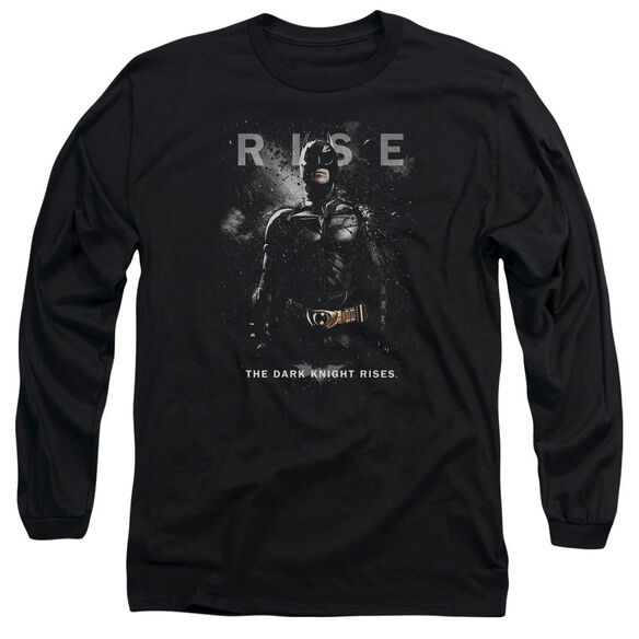 Dark Knight Rises Batman Rise Long Sleeve Adult T-Shirt