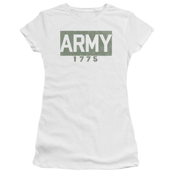 Army Block Short Sleeve Junior Sheer T-Shirt