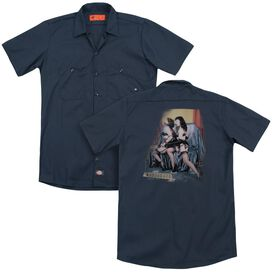 Bettie Page Notorious Color (Back Print) Adult Work Shirt