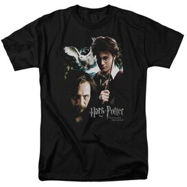 Harry Potter Harry And Sirius Short Sleeve Adult Black T-Shirt